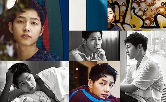 Harper's Bazaar tung bộ ảnh đầy mê hoặc của Song Joong Ki