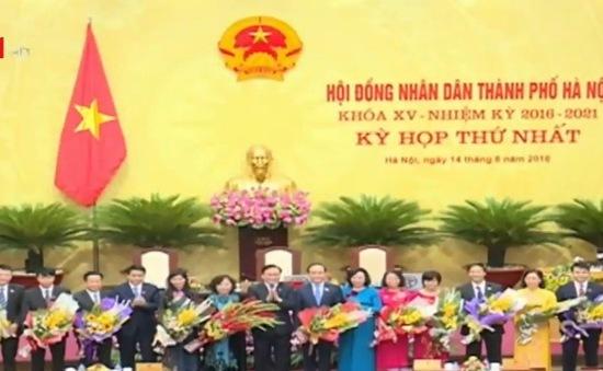 Hội đồng Nhân dân TP Hà Nội bầu các chức danh chủ chốt
