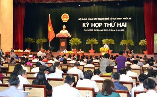 Khai mạc kỳ họp thứ 2 Hội đồng nhân dân TP.HCM khóa IX