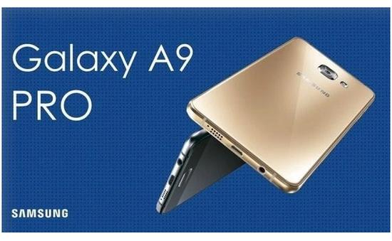 """Samsung giới thiệu Galaxy A9 Pro màn hình 6 inch, pin """"khủng"""" 5.000 mAh"""