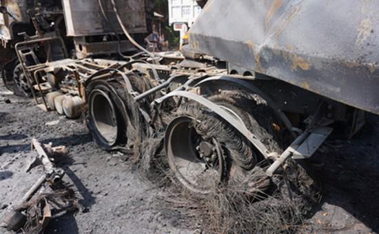 Xác định 4 xe gây tai nạn liên hoàn khiến 2 người chết cháy