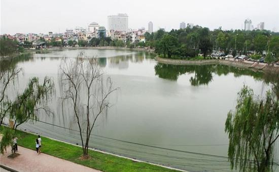 Một số hồ tại Hà Nội đã giảm ô nhiễm