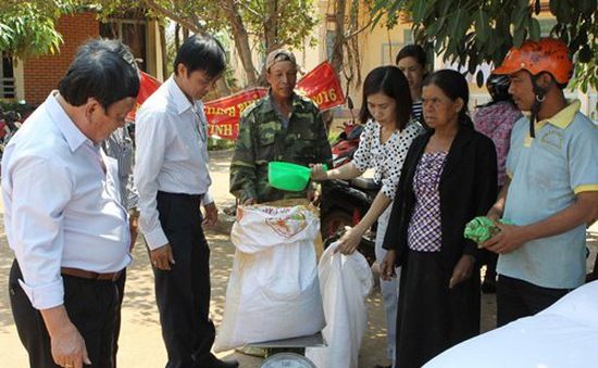 Xuất cấp 212 tấn gạo cho tỉnh Bến Tre