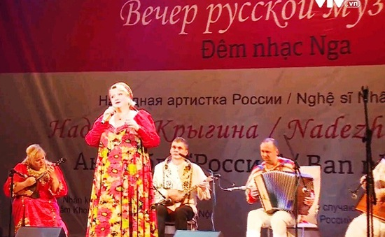 Lắng đọng không gian âm nhạc Nga tại Hà Nội