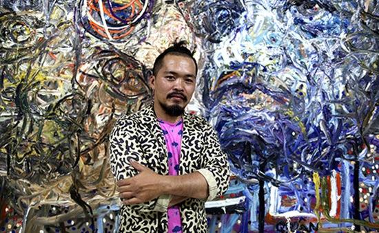Triển lãm khác lạ của họa sĩ Nguyễn Quốc Dân