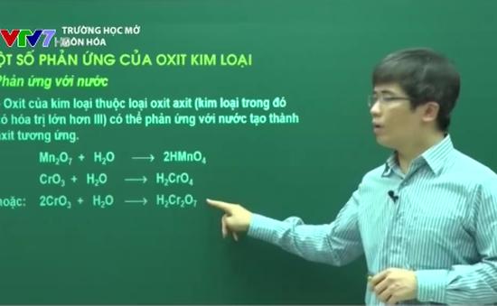 Trường học mở: Một số phản ứng của oxit kim loại