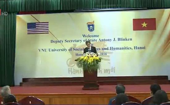 Hoa Kỳ chia sẻ lợi ích về hòa bình trong khu vực