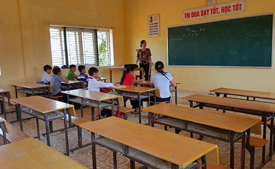 76% học sinh ở xã Kỳ Hà, Hà Tĩnh quay lại trường học