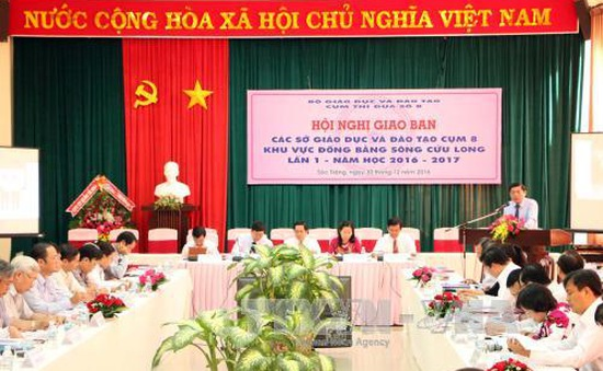 Giao ban công tác giáo dục và đào tạo các tỉnh Đồng bằng sông Cửu Long