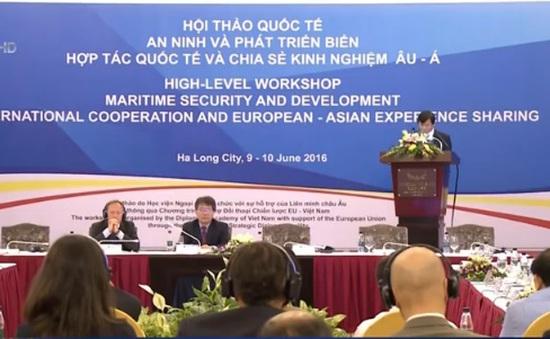 150 chuyên gia dự hội thảo quốc tế về an ninh biển tại Quảng Ninh