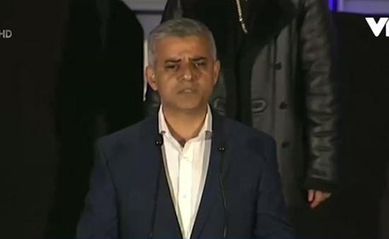 Người Hồi giáo đầu tiên đắc cử Thị trưởng London (Anh)