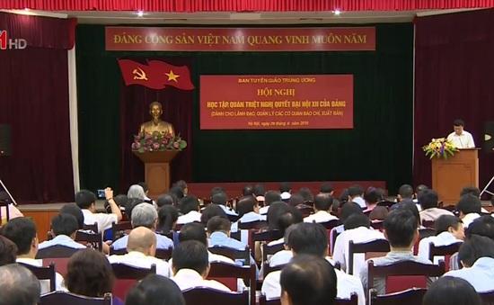 Hội nghị quán triệt Nghị quyết Đại hội XII của Đảng