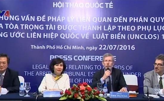 Hơn 200 đại biểu tham dự Hội thảo quốc tế về Biển Đông