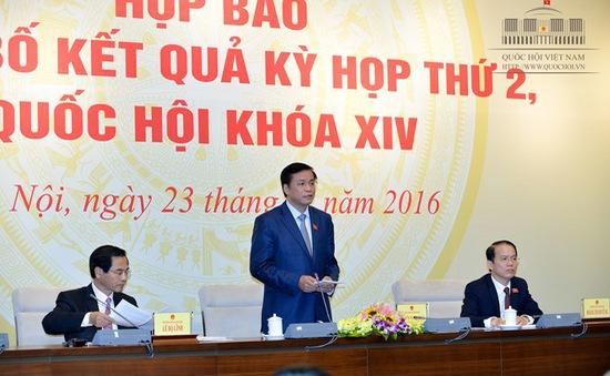 Tổng Thư ký Nguyễn Hạnh Phúc: Báo chí có sự phối hợp thông tin tốt với Quốc hội