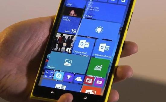 HP lộ ảnh phablet Windows 10 sắp ra mắt