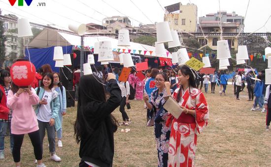 Trải nghiệm Tuần lễ Văn hóa Nhật Bản 2016 tại Đại Học Hà Nội