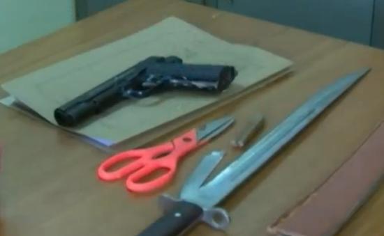 Côn đồ mang súng vào bệnh viện truy sát bệnh nhân