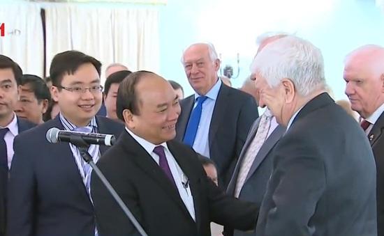Thủ tướng Nguyễn Xuân Phúc gặp đại diện Hội Hữu nghị Nga – Việt