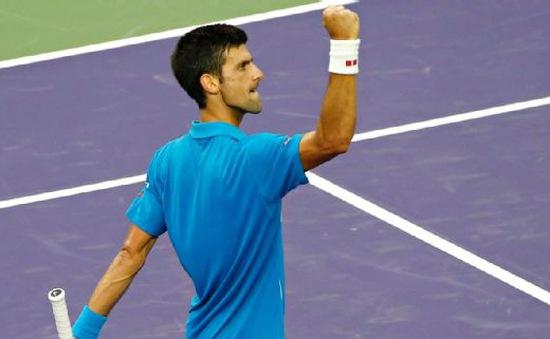 Vòng 4 ATP Miami Open: Djokovic chạm trán Berdych ở tứ kết