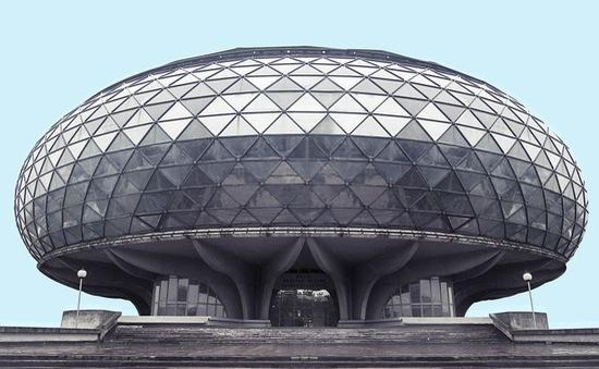 Ngỡ ngàng trước loạt kiến trúc như trong phim Star Wars