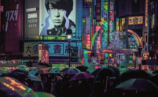 Ngỡ ngàng với vẻ huyền ảo của Tokyo vào ban đêm