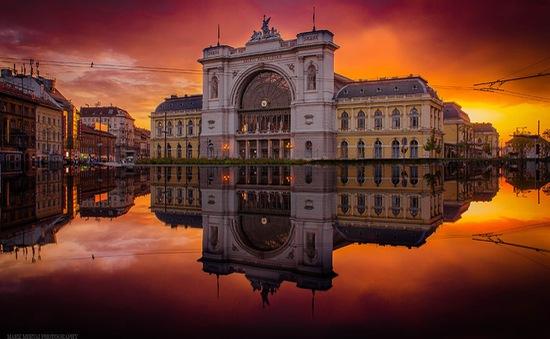 Ngắm bình minh và hoàng hôn rực rỡ ở Budapest