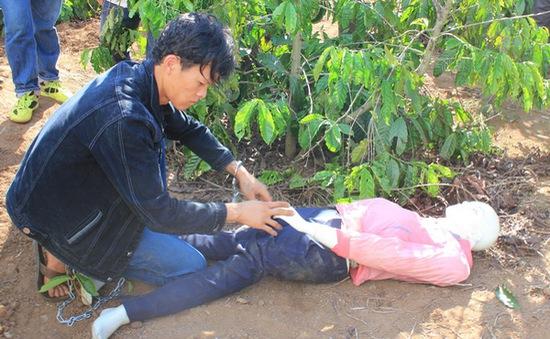 Bắt 2 đối tượng giết cháu gái 13 tuổi tại Đăk Lăk