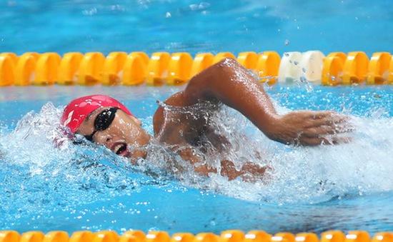 Nguyễn Diệp Phương Trâm tiếp tục tỏa sáng tại giải bơi VĐQG