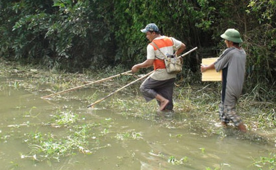 Ngăn chặn tận diệt thủy sản bằng xuyệt điện