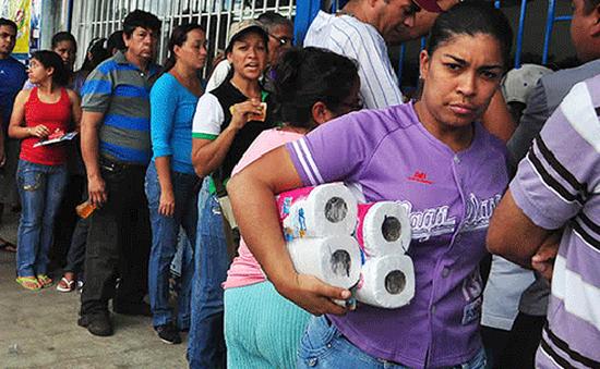 IMF dự báo lạm phát Venezuela năm 2017 có thể lên tới 1.600%