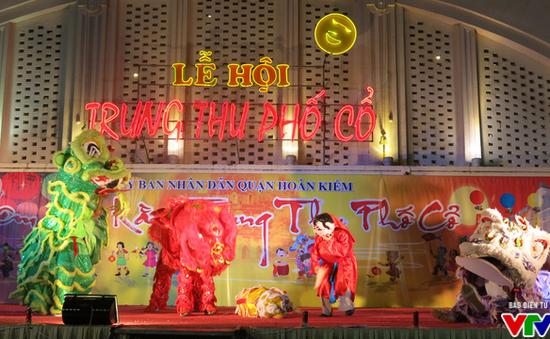 Rộn ràng trống lân đêm Trung thu phố cổ Hà Nội