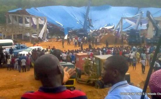 Sập nhà thờ tại Nigeria, khoảng 50 người thiệt mạng