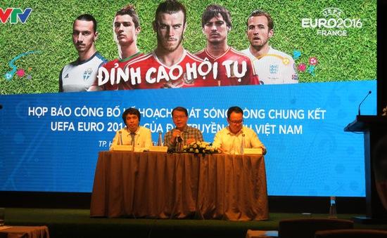 Chỉ VTV được phép khai thác video trận đấu EURO 2016