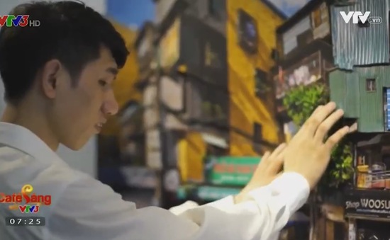 Café Sáng với VTV3: Ấn tượng không gian Hà Nội thu nhỏ dưới dạng 3D