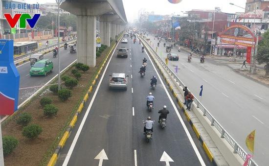 Đường thông thoáng khi hai hầm chui hiện đại nhất Thủ đô chính thức thông xe