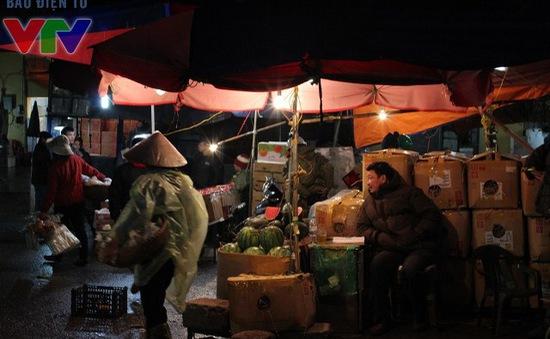 Chợ đêm không ngủ những ngày giáp Tết