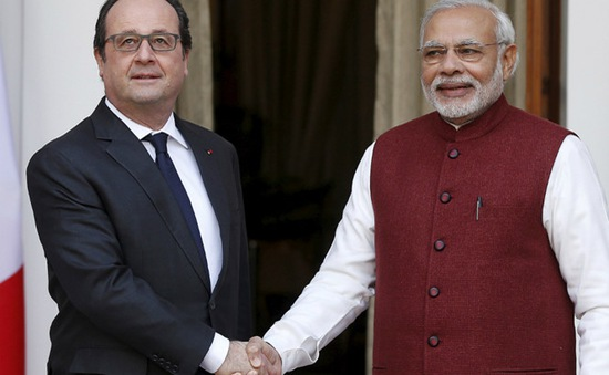 Ấn Độ sẽ mua 36 máy bay chiến đấu Rafale của Pháp