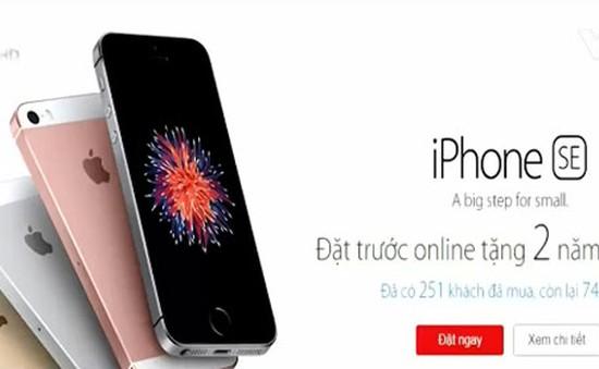 iPhone SE chính hãng sẽ có mặt tại Việt Nam từ ngày 12/5
