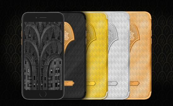 Ngắm nhìn bộ đôi iPhone 7 'gây sốt' qua họa tiết Guilloché