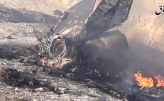 IS bắn rơi máy bay quân đội Syria