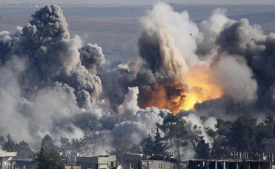 Iraq điều tiêm kích F-16 không kích tiêu diệt IS 51 tay súng ở Anbar