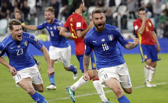 Vòng loại World Cup 2018: Italia 1-1 Tây Ban Nha: 2 bàn thắng từ 2 sai lầm