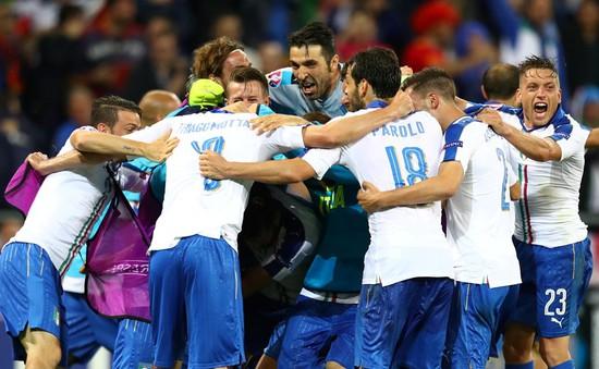 """Chiến thắng của """"ông lão"""" Italy: Nghệ thuật phòng ngự"""