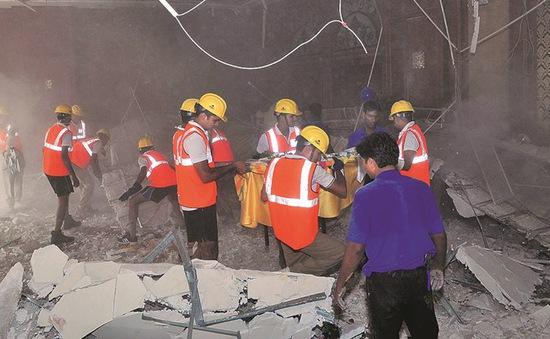 Sập trần khách sạn tại Ấn Độ, 32 người thương vong