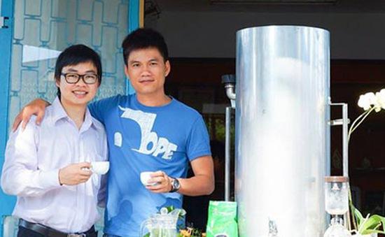 Máy pha cà phê Việt nhanh gấp 30 lần, rẻ bằng 1/5 máy ngoại