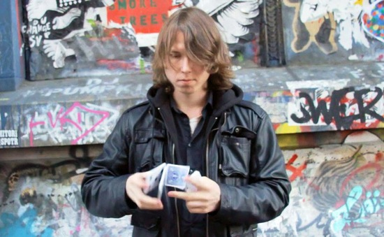 Justin Sight - Ảo thuật gia khiếm thị trên đường phố New York, Mỹ