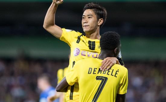 VIDEO, Cúp QG Đức: Kagawa tỏa sáng, Dortmund thắng ấn tượng