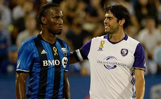Kaka vượt qua Drogba trong trận cầu hấp dẫn tại MLS