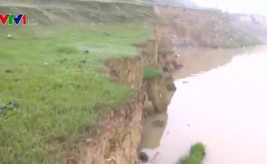 Khai thác cát trái phép tại Sóc Sơn: Hiệu quả xử lý không cao