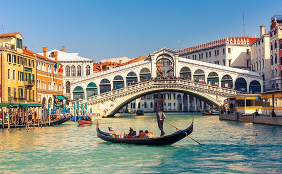 Lãng mạn phong cảnh Venice